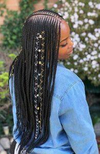simple tribal braids hairstyles