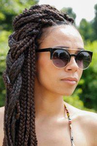 tribal braids with box braids