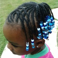 Braids and Beads Hairstyles for Kids