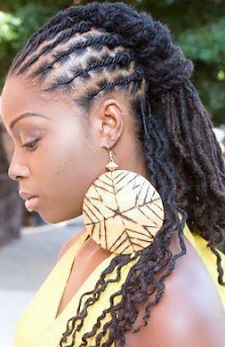 short dreadlocks hairstyle for women