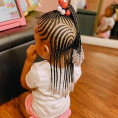 braid styles with beads for little girl,