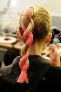 rope twist hair